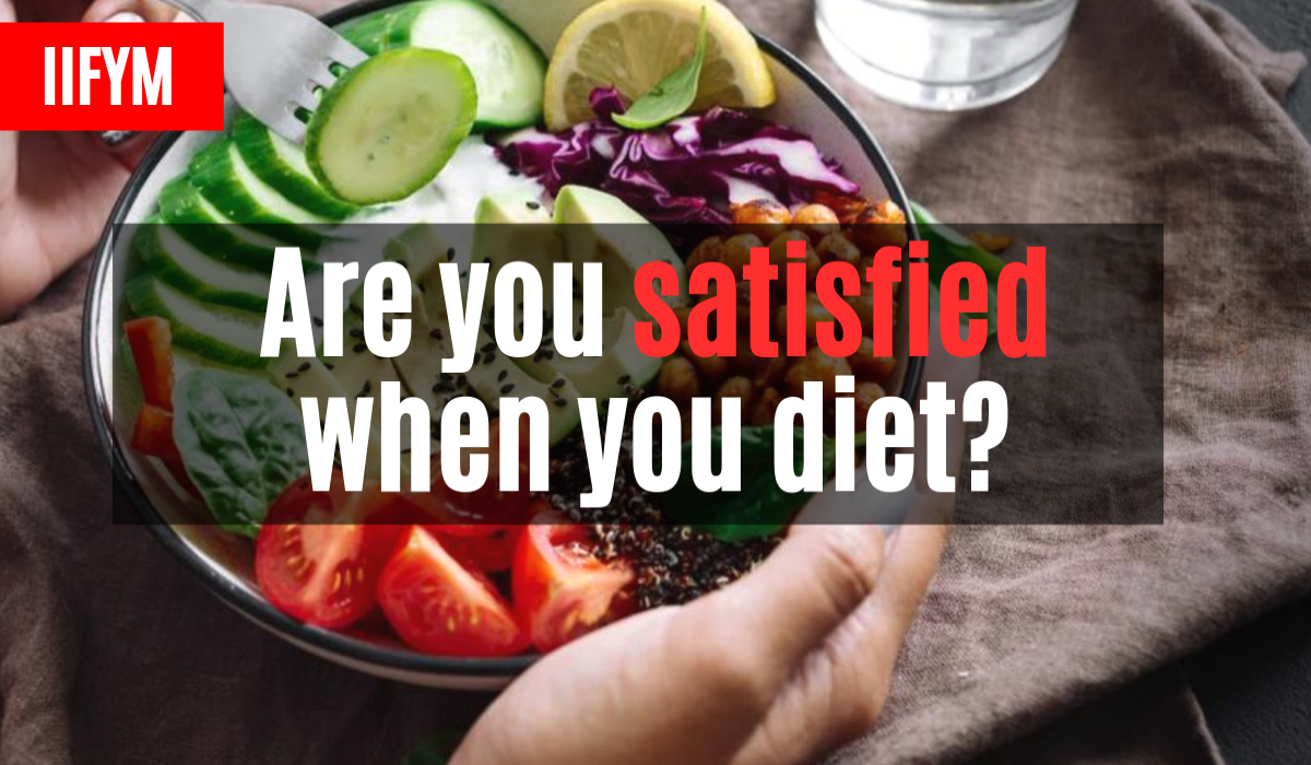 Are you satisfied when you diet?