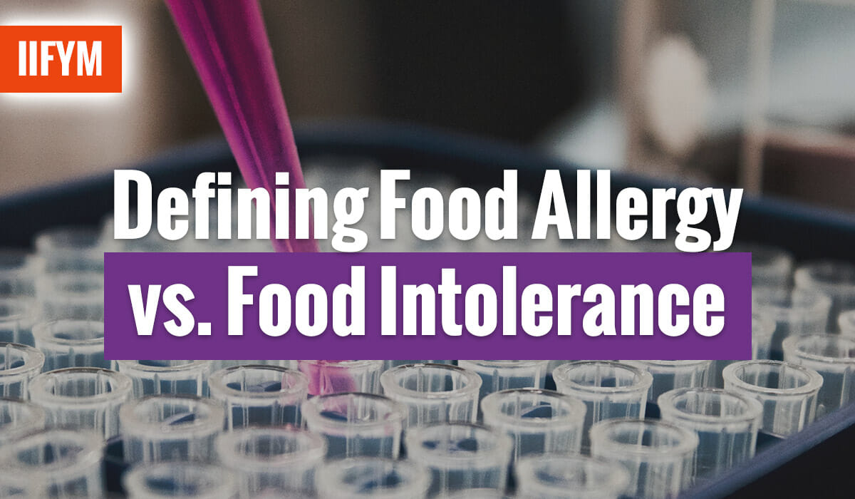 Defining Food Allergy vs. Food Intolerance