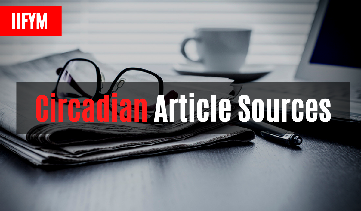 Circadian Article Sources