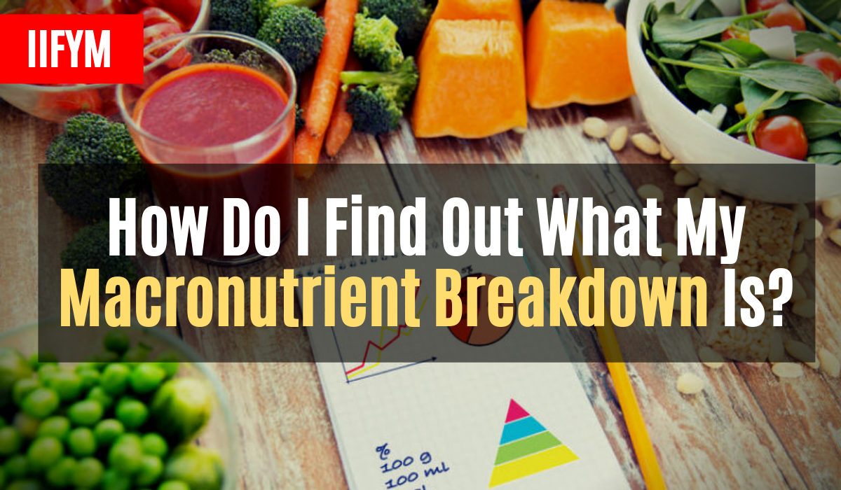 How Do I Find Out What My Macronutrient Breakdown Is?