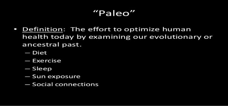 paleo-defined