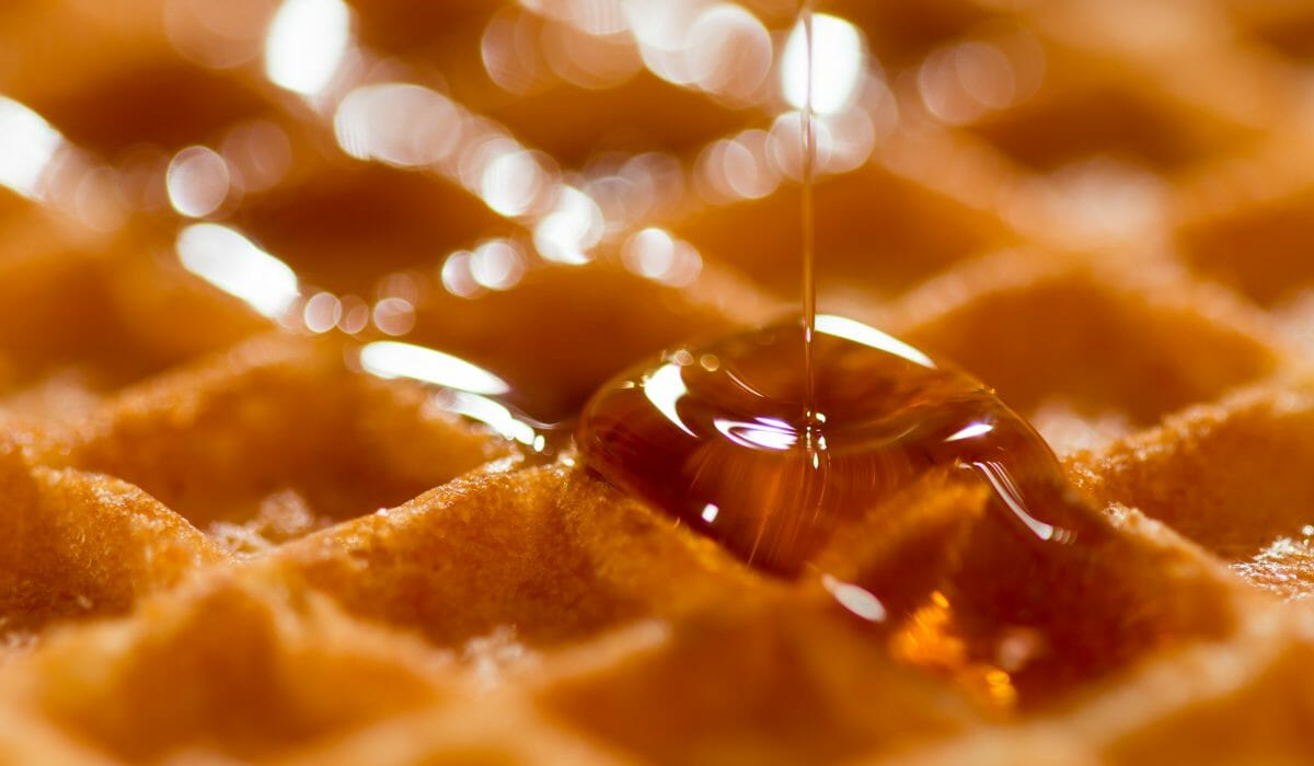 waffle-and-syrup