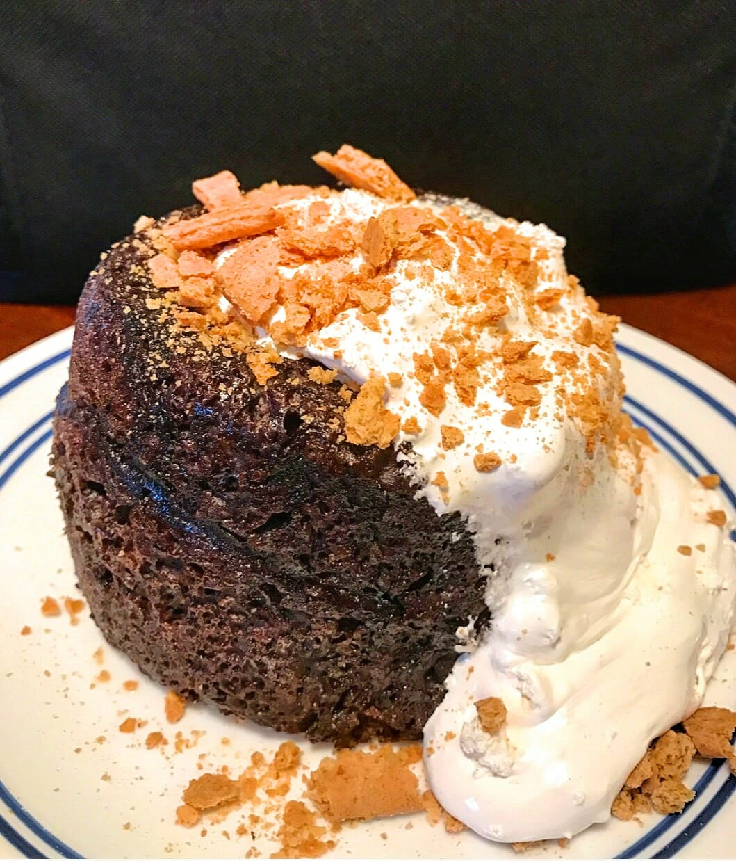 S'mores Protein Cake