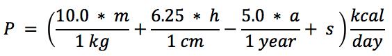 bmr_formula