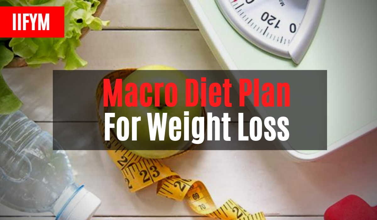 macro diet plan for weight loss