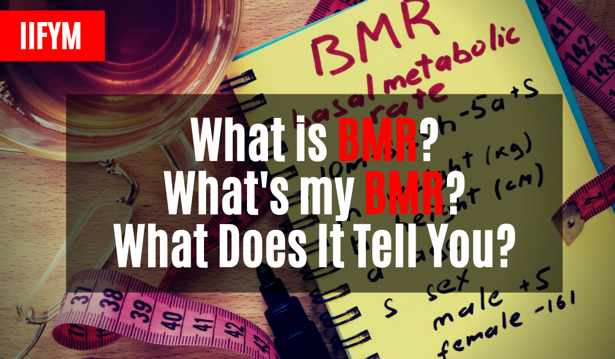 what is bmr whats my bmr what does it tell you