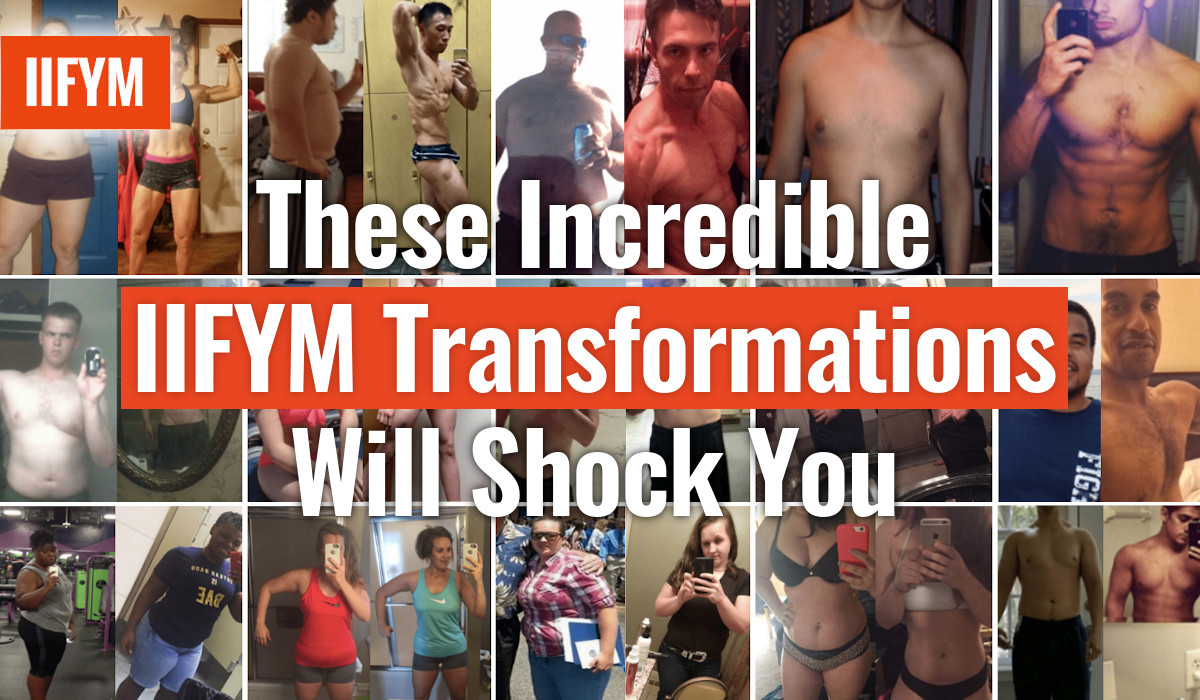 These Incredible IIFYM Transformations Will Shock You!